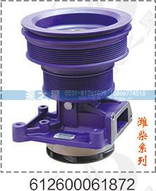 潍柴水泵总成612600061872/612600061872