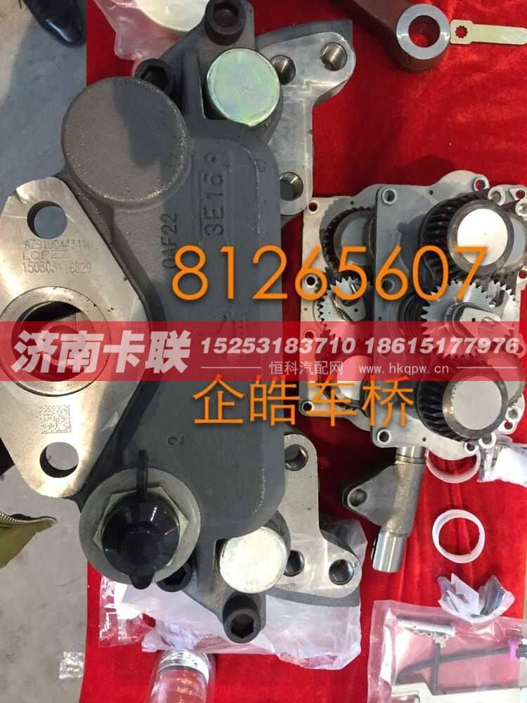 前橋、轉向節、制動器、活塞總成 81265607