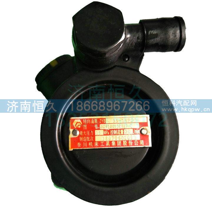 DZ9100130027秦川     19齿转向泵助力泵/DZ9100130027