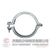重汽豪沃鑄鐵卡箍,中冷器排氣管卡箍VG1034110100
