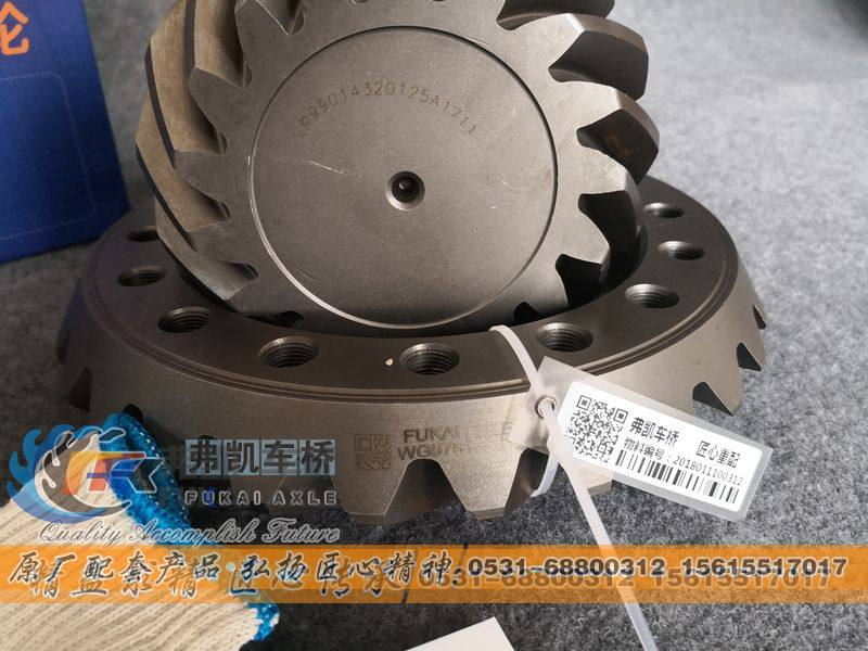 锥齿轮付WG9761320120/WG9761320120