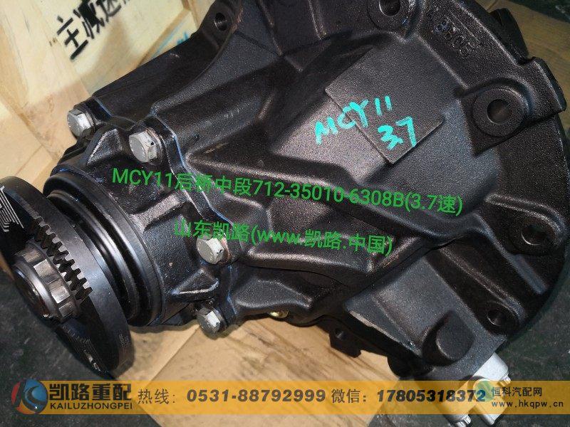 712-35010-6293后桥中段--主减速器总成3.7 VK165/712-35010-6293