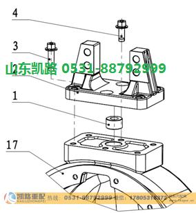 汉德469轻量化HDZ469半轴(右)/HD90129340228