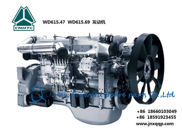 WD615.69发动机总成Engine assembly/WD615.69