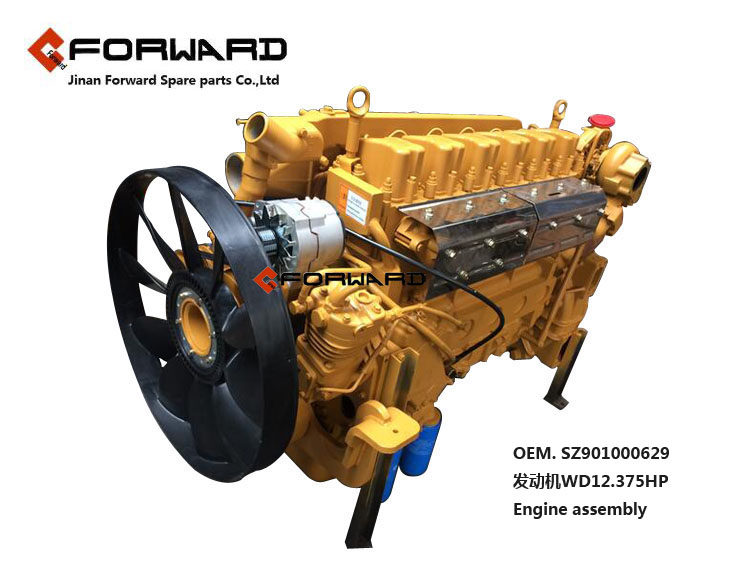 WD12.375HP    Forward发动机Beplay2   Engine assembly/WD12.375HP