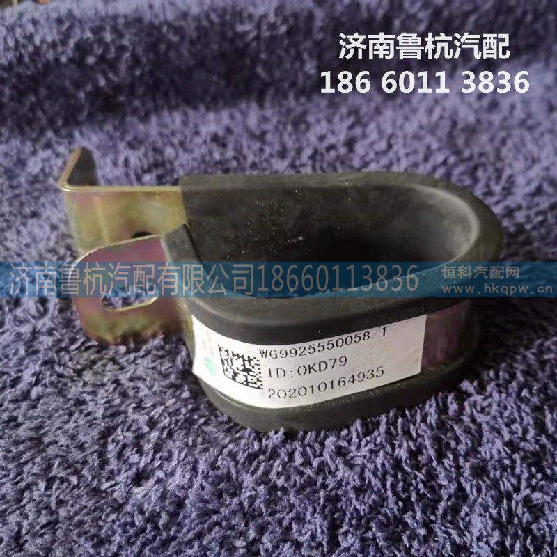 汽化器水管双管夹(WG9925550058)