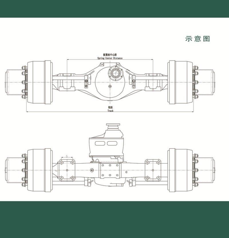 中国重汽全系列车桥总成【山东修健重卡车桥】/AZ9981330066 AZ9981320235