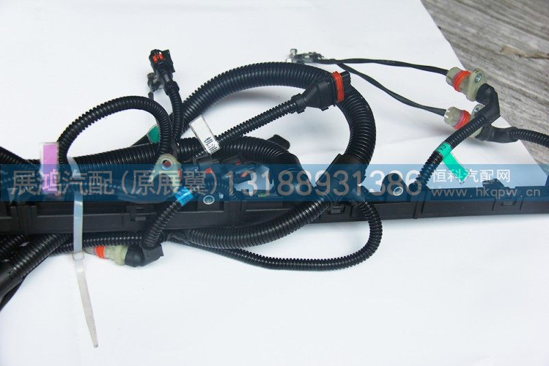 WP12发动机线束,带电控硅油风扇612640080061/612640080061