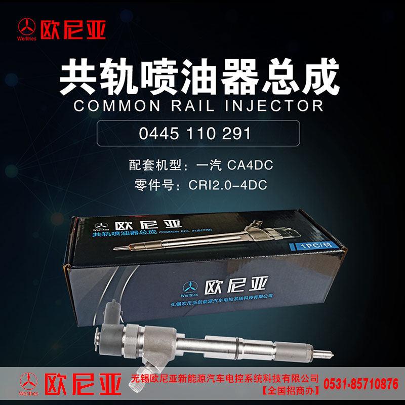一汽CA4DC共轨喷油器总成厂家直供CRI2.0-4DC/CRI2.0-4DC