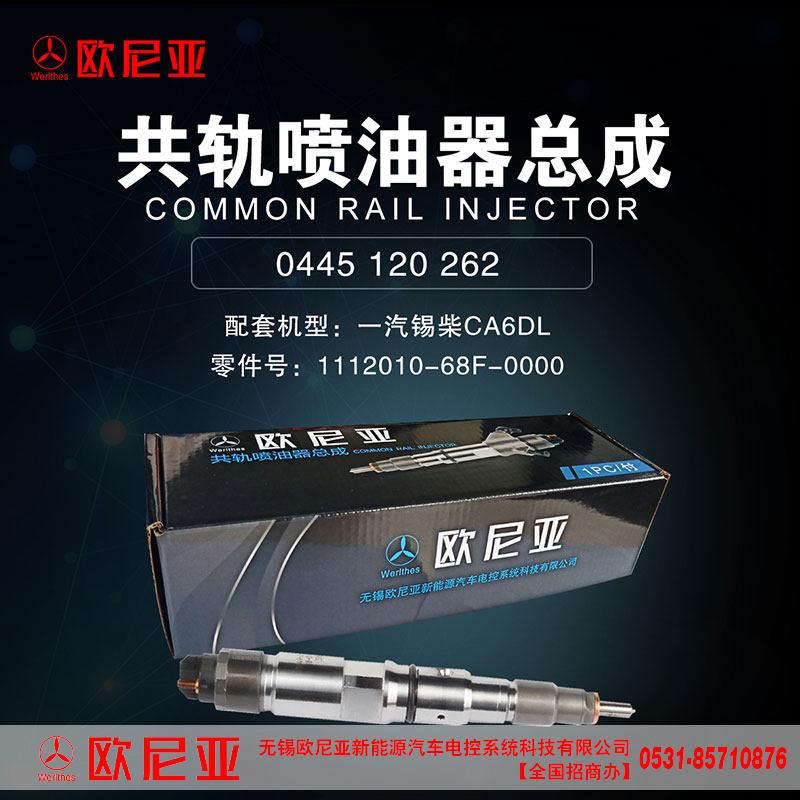 一汽锡柴CA6DL共轨喷油器总成【欧尼亚共轨系统】/1112010-68F-0000
